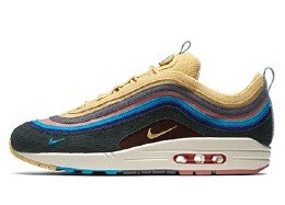 nike air max 97 ultra yellow and blue