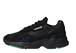 Adidas Falcon Black/Green