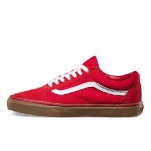 """Vans old skool red """"gum"""""""