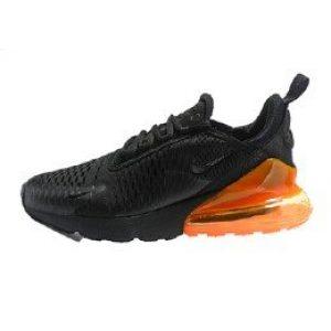nike air max 270 black/white total orange