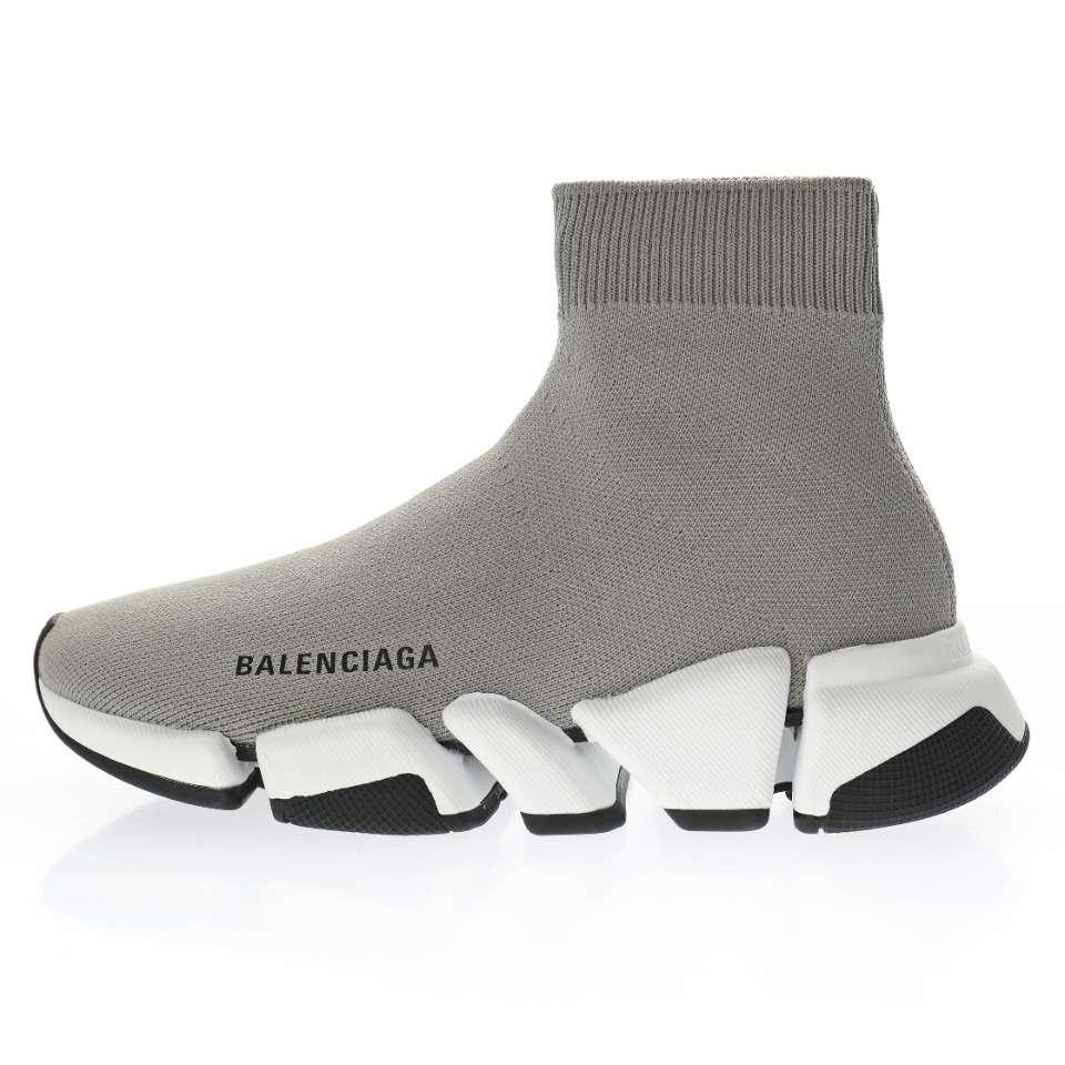 Balenciaga White Speed Sneakers