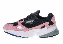 Adidas Falcon Black and Pink