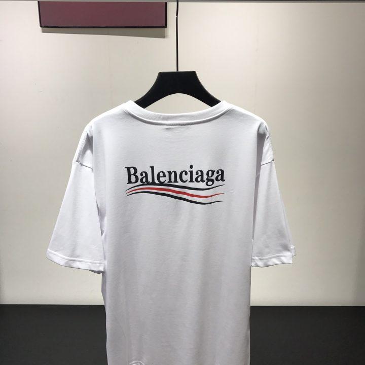 camiseta balenciaga x calzetonia classic white