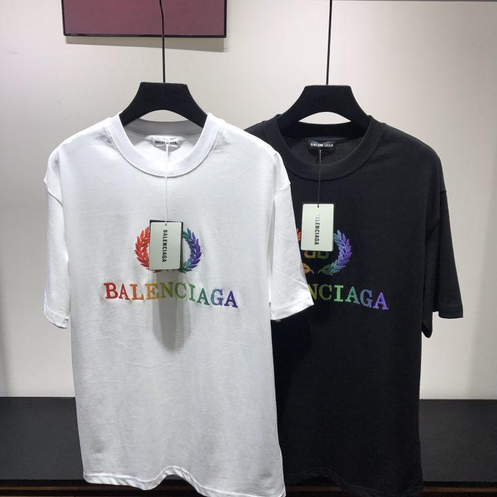 camiseta balenciaga x calzetonia multicolor