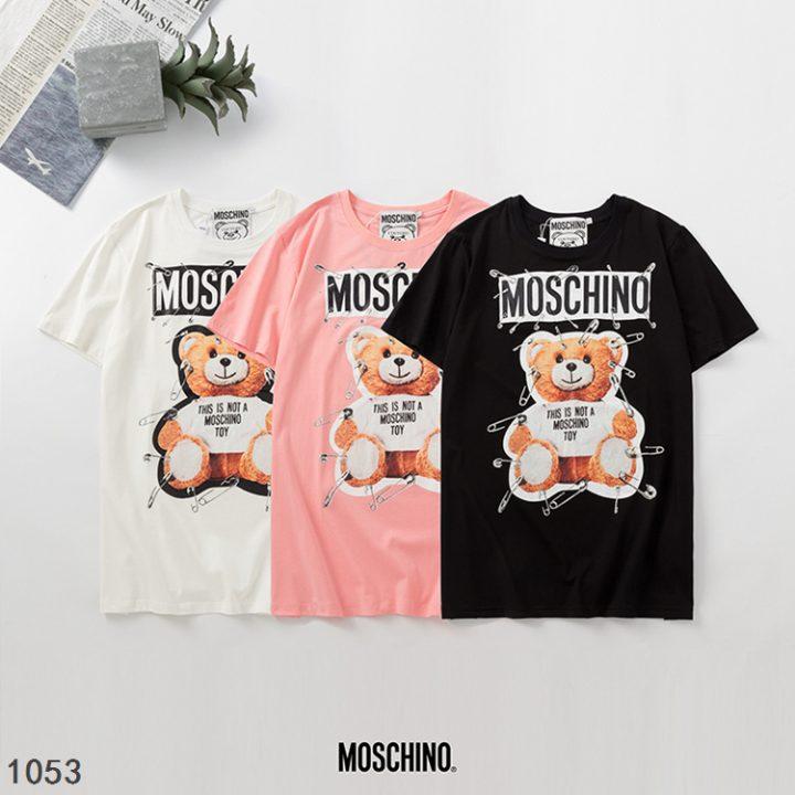T-shirt MOSCHINO BEAR triple color