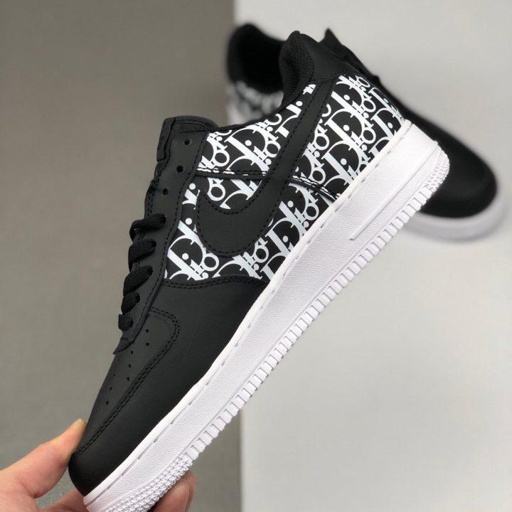 Nike Air Force x Dior Black