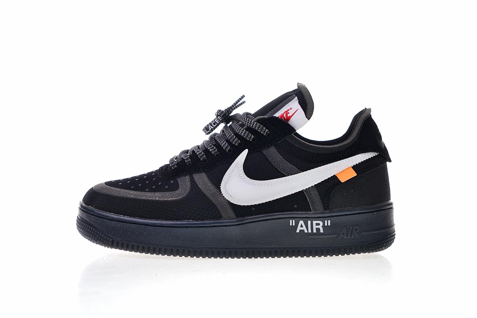 Nike Air Force x OFF WHITE Black