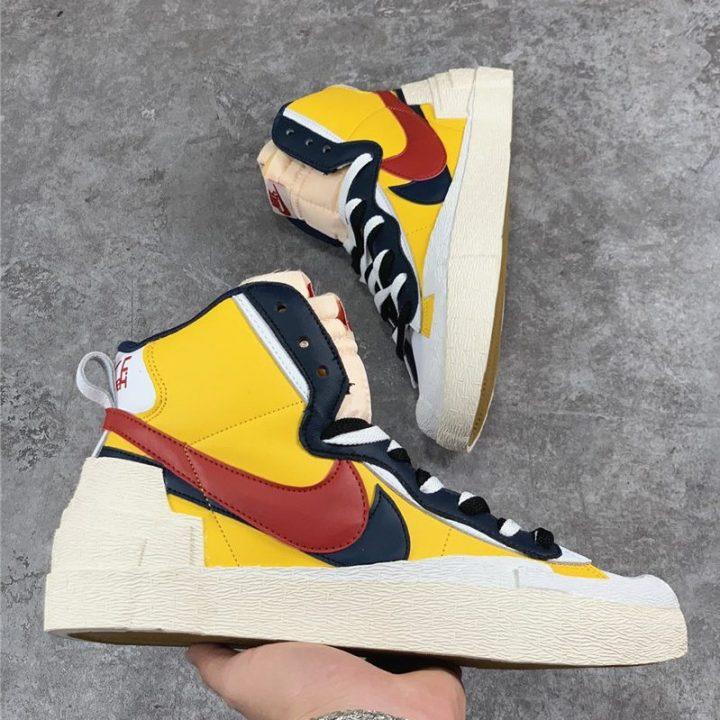 Nike Blazer x Sacai Yellow