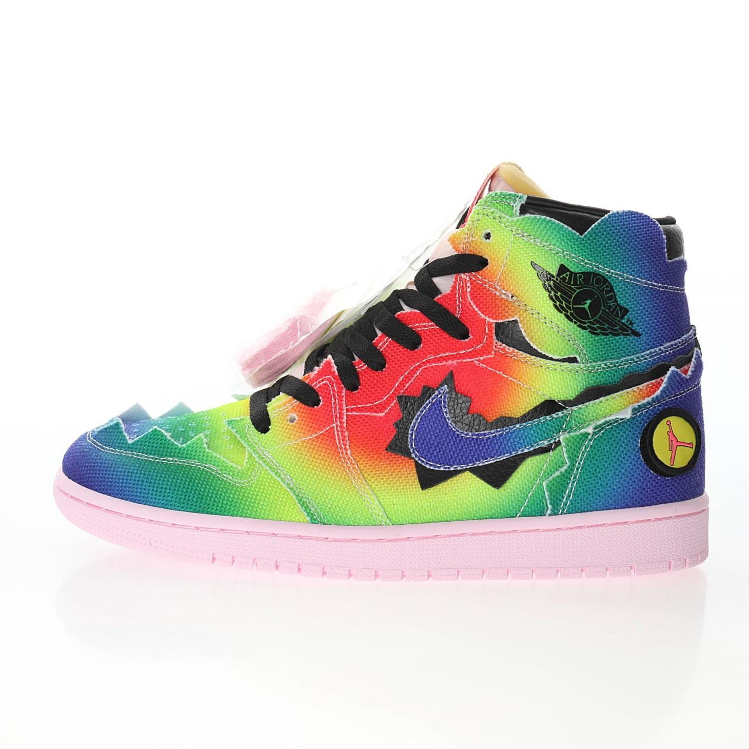 """Air Jordan 1 x J Balvin """"Multi-Color"""""""