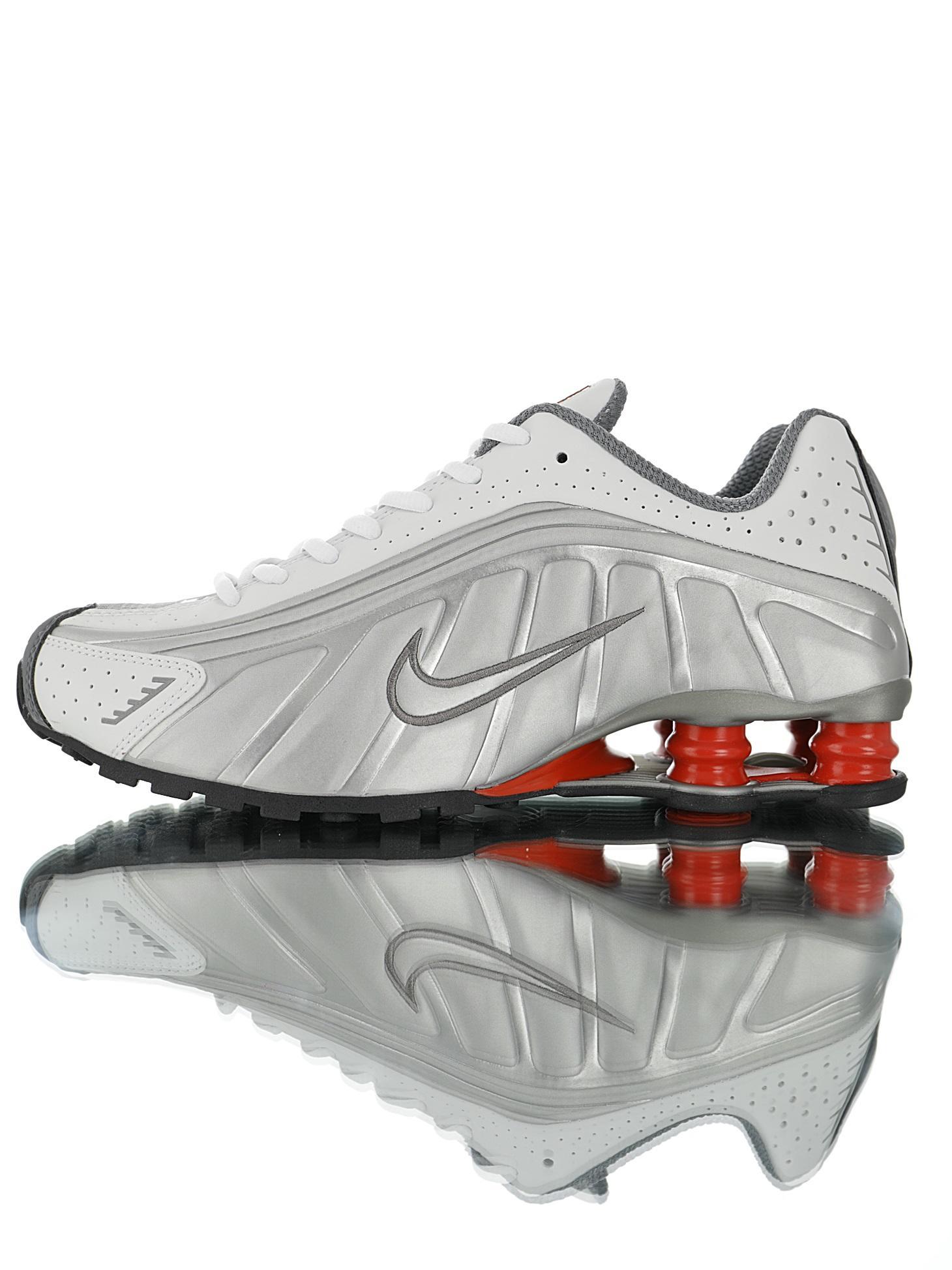 """Nike Shox OG """"Silver/Black/Red"""" R4"""