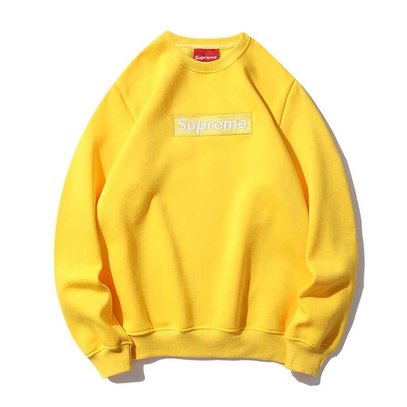 Sudadera Supreme Yellow