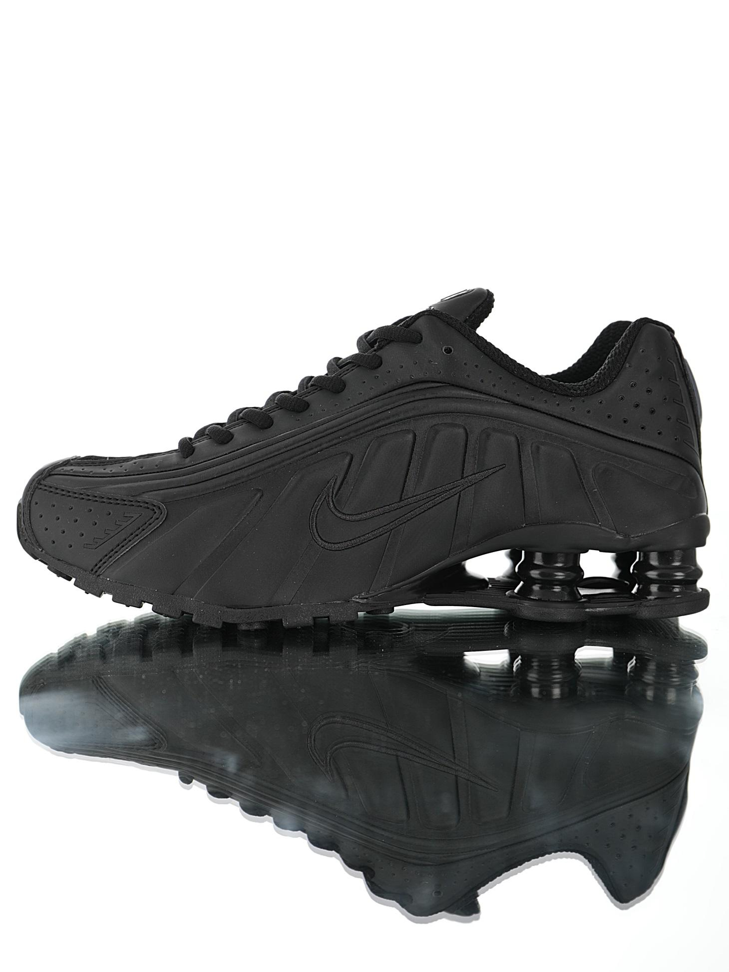 """Nike Shox R4 """"Triple Black""""R4"""