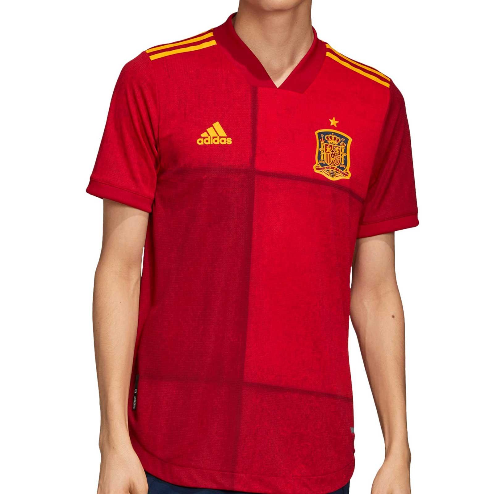 Camiseta de España Eurocopa 2021 1a Equipación